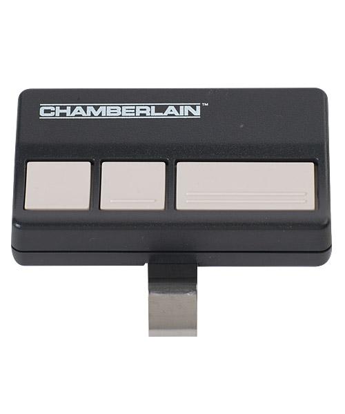 4333A – 3 button remote control with car visor clip