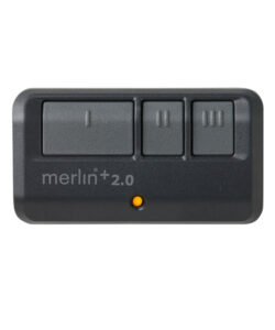 E943M – 3 button remote control with car visor clip